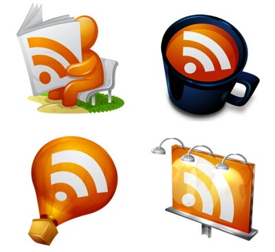 مجموعه آیکن های RSS
